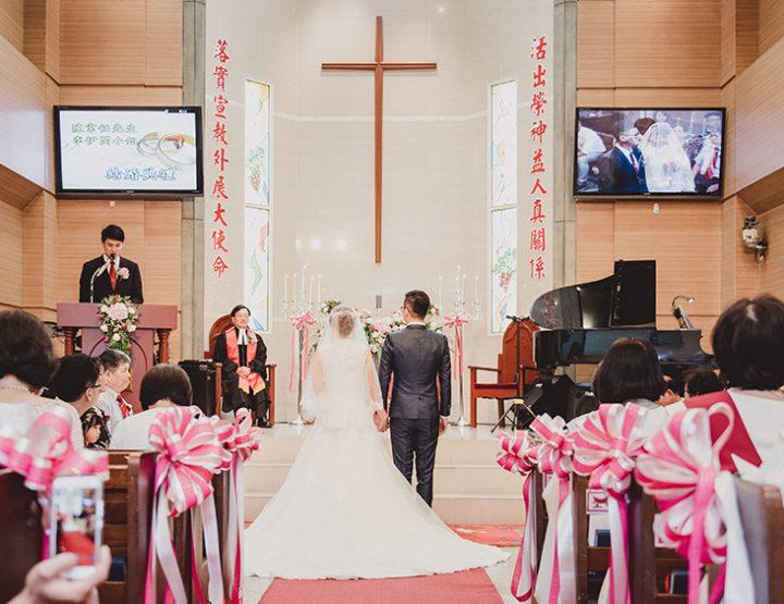 婚攝-雙人雙機│南崁-富城閣宴會莊園│婚禮紀錄-伊閔韋任│麥克雷雙攝影