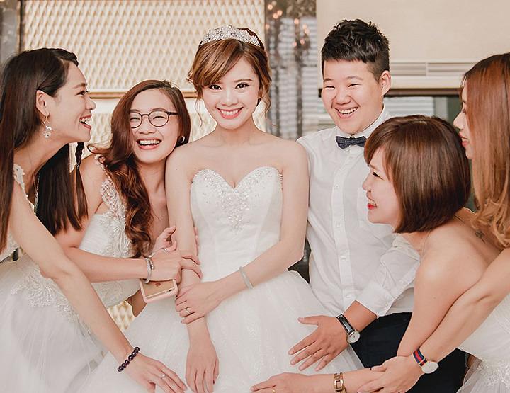 婚攝-雙人雙機│台中-兆品酒店│婚禮紀錄-欣宜右安│麥克雷雙攝影