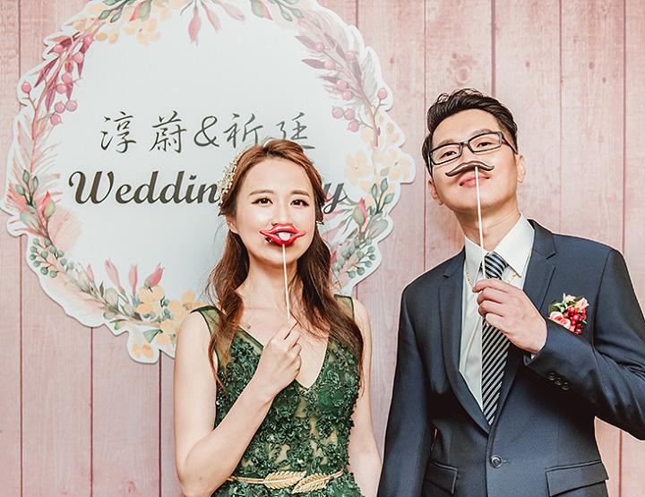 婚攝-雙人雙機│台北-國賓大飯店│婚禮紀錄-祈廷淳蔚│麥克雷雙攝影